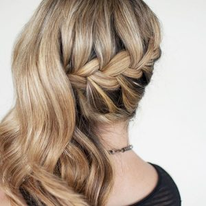 french braid hair